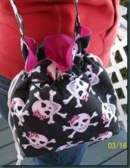 polka dot skull 1