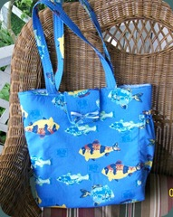 fish diaper bag 1