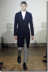 Yves Saint Laurent Fall 2011 Menswear Collection
