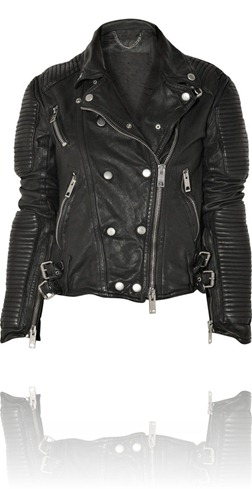 Burberry Prorsum Quilted Leather Biker Jacket
