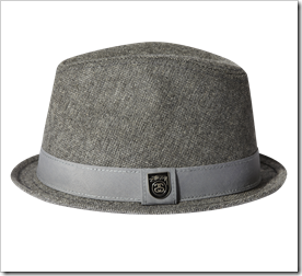 Stussy Tweed Fedora Hat