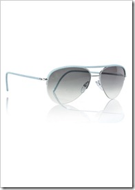 Cutler and Gross Leather-trim metal aviator sunglasses