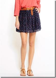 Mango Flora Skirt Front