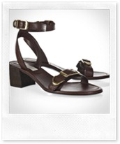 Stella McCartney Buckled faux-leather sandals