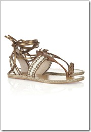 Christian Louboutin Hola Chica studded leather flat sandals