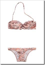 Zimmermann Lyre Lyre ruffled bandeau bikini a