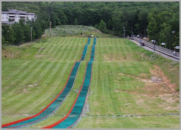 It's a really long tubing track!
