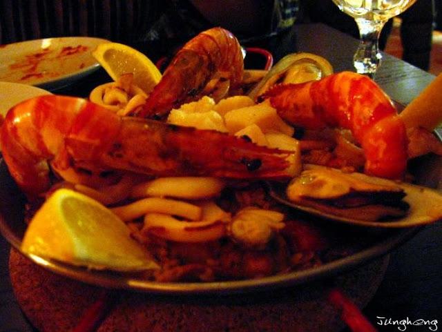 豪華西班牙海鮮飯