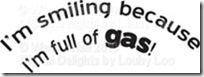 Full of gas