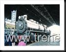 """Locomotora N°903 tipo 90, ejes 2-8-2 """"Mikado""""."""