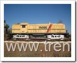 Locomotora N9401, modelo RSC3, Construida en 1951 por la Montreal Locomotive Works ( M.L.W.) bajo licencia de American Locomotives Company ( ALCO ).
