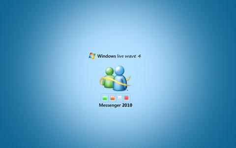 wlw44 Windows Live Wave 4 Wallpaper