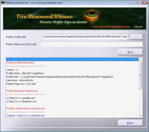 rubare_password_firefox