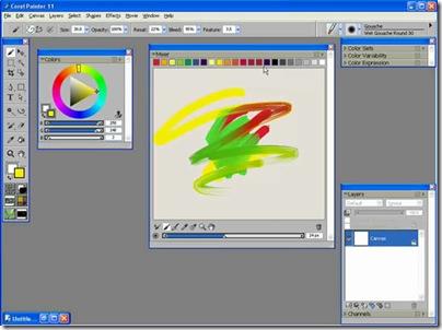 Corel Painter 11 550