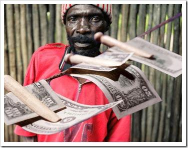lavado de dinero Africa