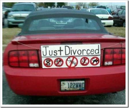 divorciado y decepcionado