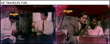 Shashi Kapoor travels...