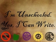 I'm Unschooled. Yes, I Can Write.