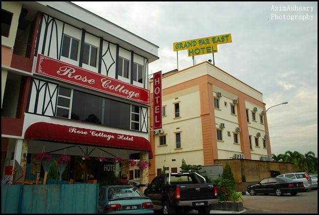 Ada 3 Bajet Hotel Kat SiniRose CottageGrand Far East Dan Jugak Swan Hoteldalam Tu Rose Cottage Paling Murah So Aku Pilih Duk