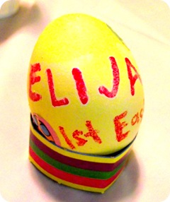 Elijah's First Easter