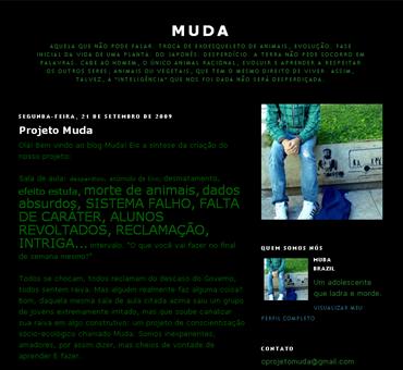 Cópia de Projeto Muda - O ínicio