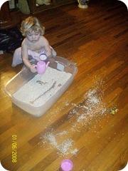Mimi sandbox mess
