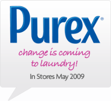 Purex Change is Coming to Laundry