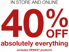 Lane Bryant 40 percent off