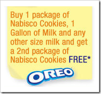 Nabisco Cookies BOGO Coupon