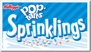 Kelloggs PopTarts Sprinklings