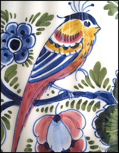 Delft bird