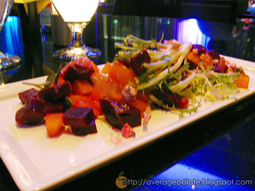hidden, Dine Out Vancouver 2010, beet salad