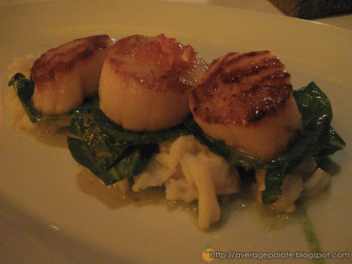 Observatory Grouse Mountain, Dine Out Vancouver 2010, Qualicum Bay scallops