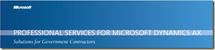 dynamics ax professional services