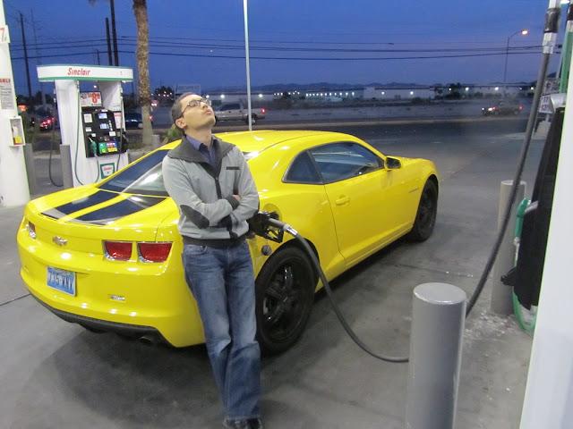 Накормить зверя Camaro