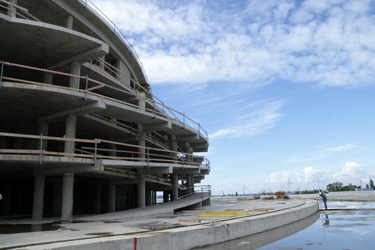 Сочи, строительство олимпийских объектов