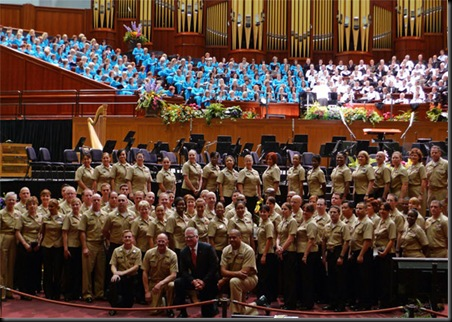 Glenn... Military Attorneys... Mormon Tabernacle Choir in SLC