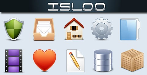 Isloo – 50 Free High Quality Icons