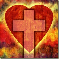 Heart Cross by ba1969