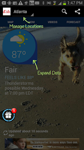 App DISH NETWORK Weather APK for Kindle