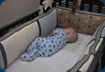 Huddie sleeping
