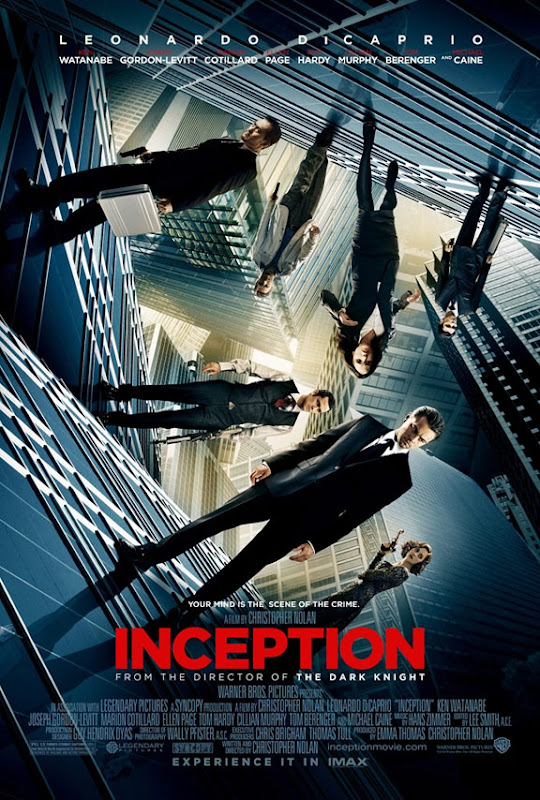 Inception, movie, poster, dvd, cover