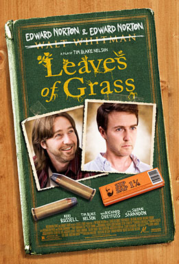 Leaves of Grass, movie, poster