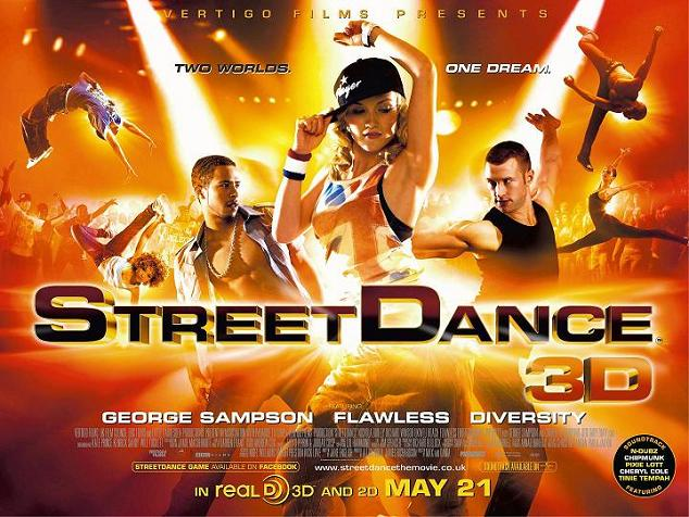 StreetDance, 3D, 2010, Movie, poster, image, trailer, dance, music, Synopsis, info, information, review