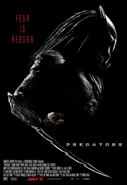 Predators, poster, new, 2010