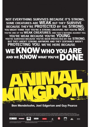 Animal Kingdom, movie, poster, dvd, box, art, image, cover