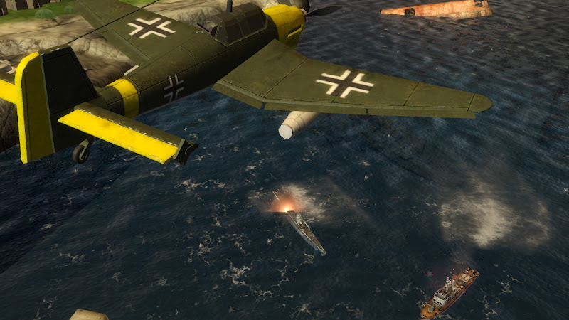 Naval Assault, The Killing Tide, screen, screenshots, screens, images, game,xbox
