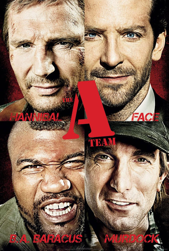 The A Team, movie, poster, new, cover
