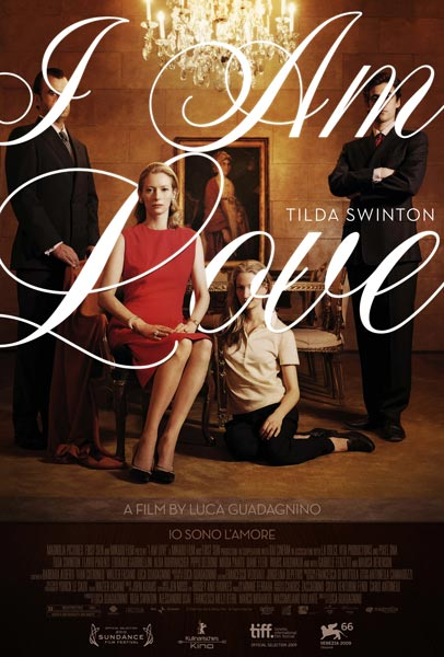 I Am Love, movie, poster