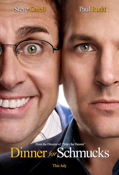 Dinner for Schmucks, 2010, Movie Poster